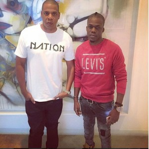Rapper Iceberg spotted with Jay Z in new Photo… (They actually look alike)