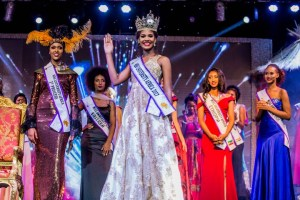 Miss Lorriane Nadal from the Island of Mauritius has been crowned the Miss University Africa 2017. (Photos)