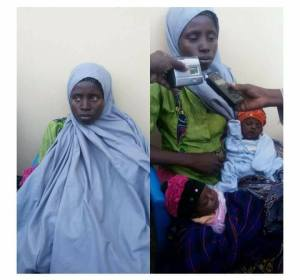 Woman Selling Her Twin Babies For N350,000 In Katsina Arrested By Police (Photo)
