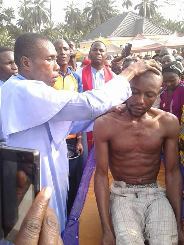 Father Chiedozie Chilaka Raises Dead Man In Imo state (Photos)