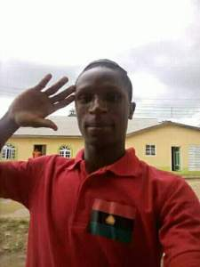 See Burial Poster Of 21-Year old IPOB Member Who Was Killed At Nnamdi Kanu's House (Photos)
