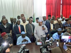 """, BREAKING: """"PDP is the only party in this country"""" – Atiku says as he visits PDP secretariat at Abuja, Effiezy - Top Nigerian News & Entertainment Website"""