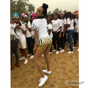 """I have never been this loved in my life"" – Cross-dresser in NYSC camp says (Photos)"