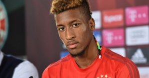 Kingsley Coman extends his Bayern Munich's contract to 2023