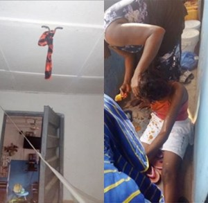 Nigerian Man, Reveals How He Saves His Wife From Committing Suicide After She Spent The House Rent (Photos)