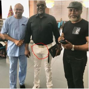 Dino Melaye shows us his eggplant in new photo (Photo)