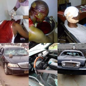 Hoodlums Attack Traditional Ruler, Oba Odidiomo While Holding A Meeting With Family In Ondo State (Photos)