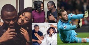 """You are very Stupid"" — Ubi Franklin tells follower who said De Gea would have saved his marriage"