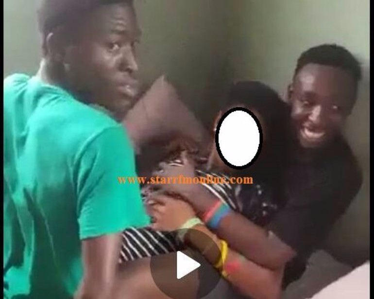 4 boys gang rape a teenage girl in Ghana (18+ Video)