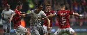Carabao Cup: Bristol City knock out Manchester United