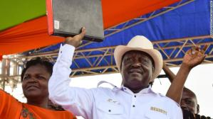 Raila Odinga Swears Himself In As Kenya 'President'