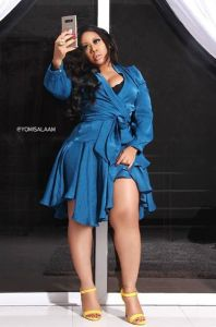 Actress, Moyo Lawal ask her fans to pray for her future husband