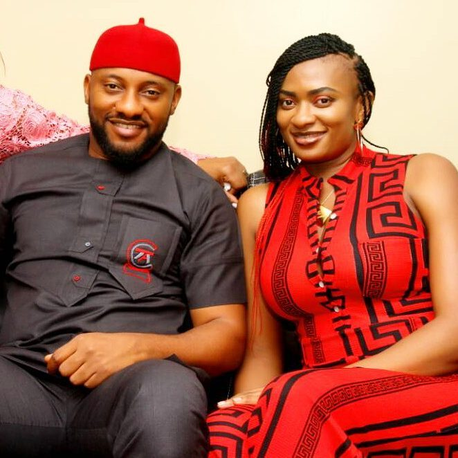 Yul Edochie and wife in new photo