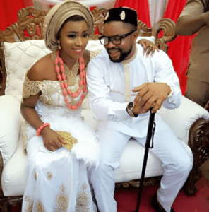 Read how this beautiful Nigerian lady marries her man within 1 month of meeting him (Photo)