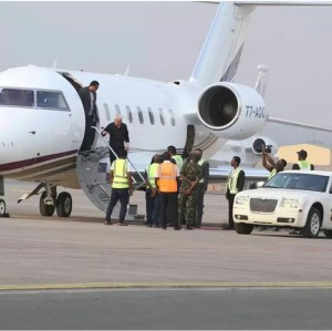 Benny Hinn Arrives Abuja In A Private Jet For Christ Embassy's Crusade (Photos)