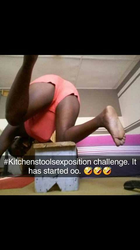 """, #KitchenStoolSexPosition Challenge: Ghanaian""""s Start Sex-Stool Challenge After The Release Of A Sex-tape Between A Principal and JSS 2 Student (Photos), Effiezy - Top Nigerian News & Entertainment Website"""