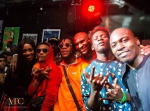 See Wizkid And Burna Boy Dancing The Shaku Shaku Dance In London (Video)