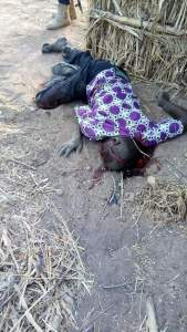 Fulani Herdsmen Kill A Man In Taraba, Shoot His Wife (Graphic Photos)