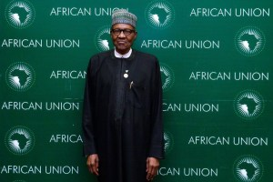 President Buhari At The Closing Ceremony Of AU's Meeting (Photos)