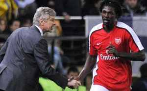 """""""Wenger chased me out of Arsenal and lied to the media i left because of money, that's why i hate Arsenal"""" – Emmanuel Adebayor"""