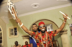 D'banj honoured with Igbo chieftaincy title in Imo state (Photos)