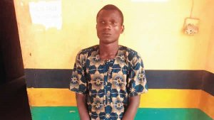 Nigerian man murders his six-month-old baby because he suspected his wife was having an affair (Photo)