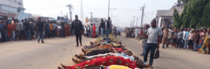 Gunmen kill Lord's Chosen members, many others coming back from New Year service in Rivers (Graphic Photos)