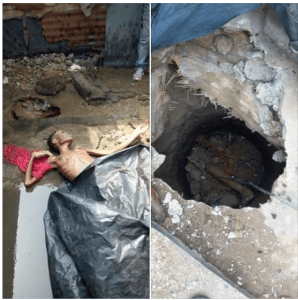 19-Year-Old Girl Strangled To Death And Hidden In A Septic Tank By Her Relations (Photos)