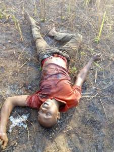 Fulani Herdsmen kill father of two in Delta state (Graphic Photos)