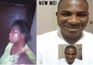 Angry Nigerian Priest Beat Up Woman Just Because She Poured Pepper On Him (Photos)
