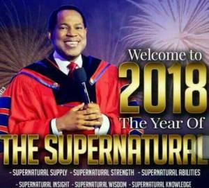 Pastor Chris Oyakhilome's prophetic declarations for 2018