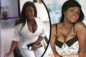 Busty Ghanaian Actress, Tracey Boakye Shows Her Cleavage In Birthday Photo