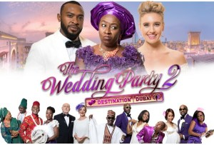 'The Wedding Party 2' breaking box office records in London, Nigeria