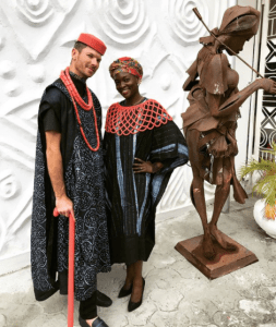 Late Dora Akunyili's Daughter, Chidiogo Ties The Knot With Her White Boo, Andrew – (Photos)
