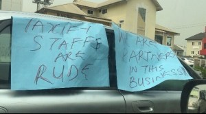 """We Are Not Rapists, We Need Respect"" – Taxify Drivers Protest (Photos)"
