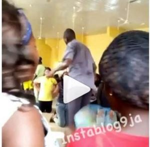 See This UniOsun Lecturer Flogging 200Level English Students (Video)