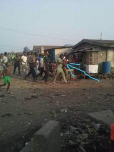 Man Kills Wife In Lagos, Dumps Her Body In Water (Graphic Photo)