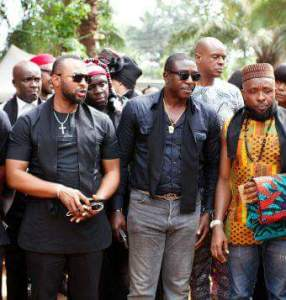 PHOTONEWS: Nollywood stars storm Anambra for the burial of movie director, Kasvid (Photos)