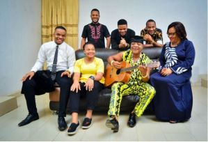 See Photo of Iconic Singer, Bright Chimezie And His Beautiful Family (Photos)