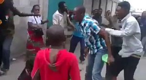 See as a woman is stripped naked because a pastor called her a witch (Video)