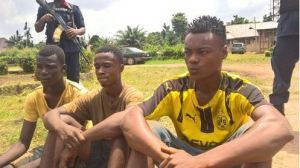 """""""We Thought She Was An Ashawo"""" – 3 Teenagers Nabbed For Having Sex With A 14-year-old Girl"""