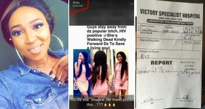 Nigerian Lady Forced To Share Her HIV Test Result After Her Friend Accused Her Of Being HIV Positive (Photos)