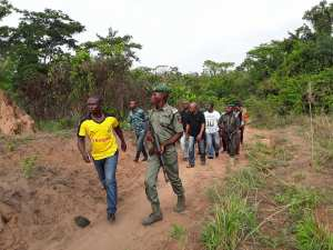 Delta Lawmaker Leads A Team Of Security Agents To The Bush In Search Of 'Killer' Herdsmen (Photos)