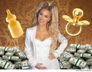 Khloe Kardashian spends over $90,000 (N32million) shopping for her unborn baby