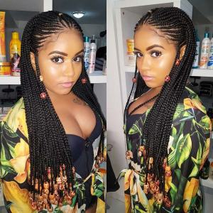 Check Out 10 Hot Fulani Braids Every Lady Should Try Out (Photos)