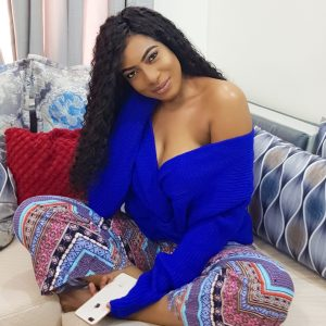 Actress Chika Ike looking sexy in new photo