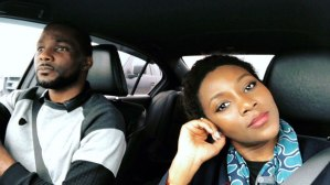Genevieve Nnaji Shows Off Her Cute Brother [Photos]