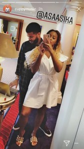 See DJ Cuppy And Her Boyfriend Bedroom Photo