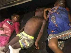Woman Strangles Neighbour's Children After Kidnapping Them (Graphic Photo))