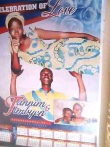 LOL: Check out this photo of a man carrying his wife on his head (Photo)